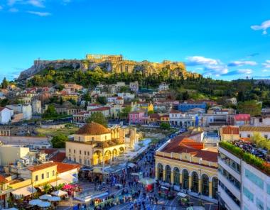Πλάκα και Μοναστηράκι στην Αθήνα
