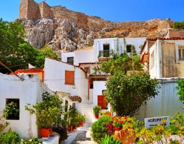 Αναφιώτικα - Πλάκα στην Αθήνα