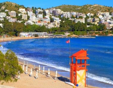 Παραλία Ακτή Βουλιαγμένης στην Αθήνα
